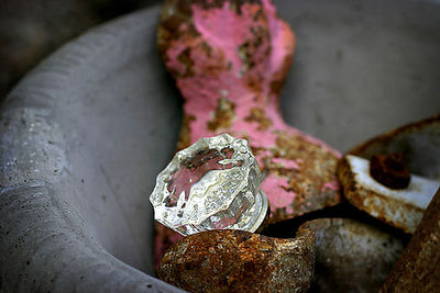 Vintage treasures with pink
