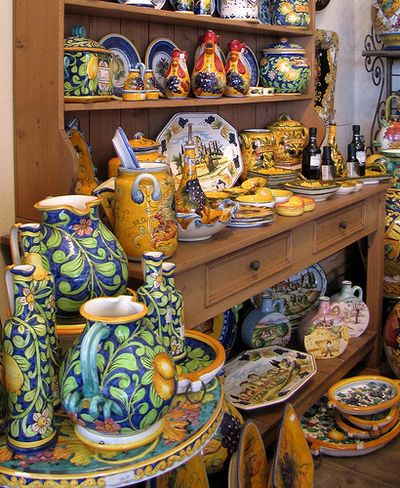 Now As A Designer, I Enjoy Helping Clients Select Kitchen Pottery To Add To  There Homes. A Little Goes A Long Way With This Type Of Pottery.