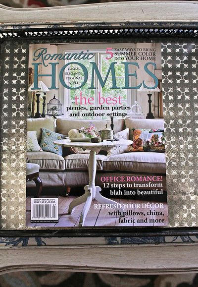 July Issue Romantic Homes