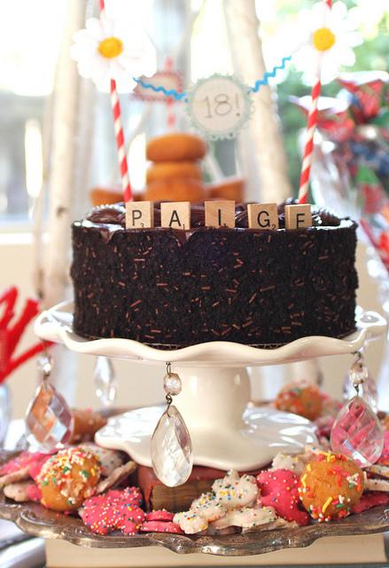Pedistal cake details