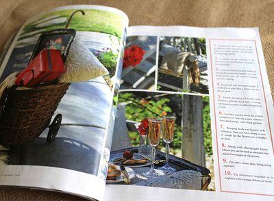 Romantic picnic ideas published
