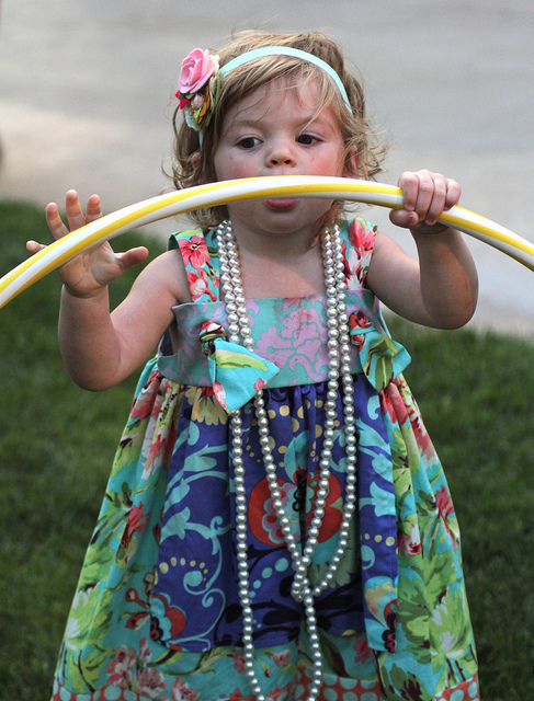 Lil hula hooper