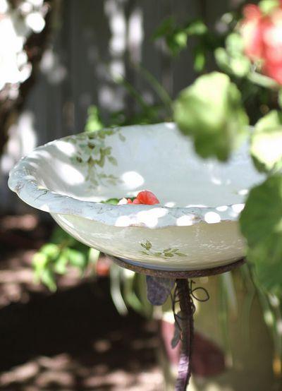 Birdbath DIY