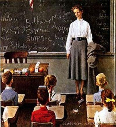Norman_rockwell-school_teacher