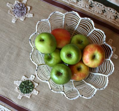 Basket and Table-runner