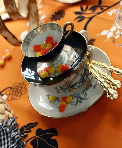 Kayellen's Halloween Teacups
