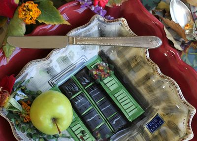 Creative placesetting by kay ellen