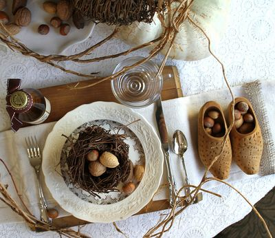 Nutty inspired table by kayellen